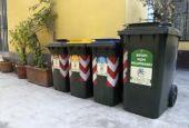 Raccolta differenziata dei rifiuti al 55%