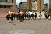 La passeggiata equestre da Collevalenza