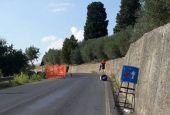 Più di 2 anni per riparare la strada di Montemolino franata