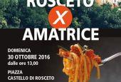 Rosceto x Amatrice: pranzo di solidarietà