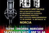 Marsciano-Orosei: doppio concerto per Norcia
