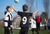 Testa da proteggere nei giovani calciatori