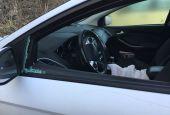 Todi: nella notte rotti i vetri di alcune auto in sosta
