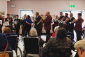 Banda in concerto alla Veralli-Cortesi