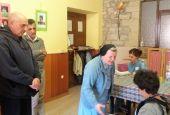 Paolo Brosio al Centro Speranza di Fratta Todina