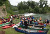 Discesa del Tevere in canoa: il 2 aprile l'open day