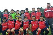 L'Olimpia CollepepePantalla al Football Academy Cup