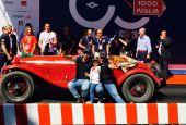 I bresciani Vesco e Guerini hanno vinto le Mille Miglia