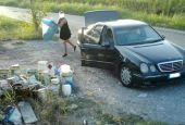 Foto-trappola anti discarica a Todi