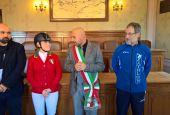 Targa per Lavinia Paliani e Vladimiro Margutti