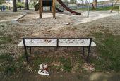 Gesto vandalico ai giardini pubblici di Deruta