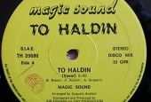 To Haldin, disco mix 33 giri, from Monte Castello