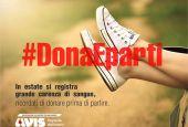 #DonaEparti: al via la campagna social dell'Avis