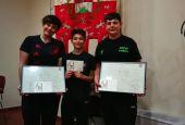 Premiati in Comune tre giovani atleti frattigiani