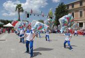 La nazionale degli sbandieratori in Umbria