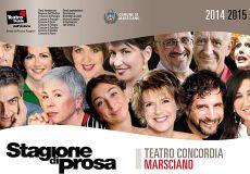 La nuova stagione di prosa al Concordia di Marsciano