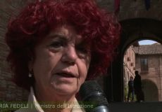 La Ministra del MIUR in visita all'Agrario di Todi