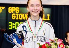 Amelia Giovannelli vice campionessa di sciabola