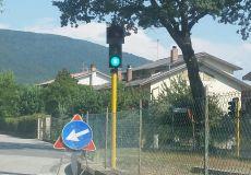 Massa Martana: ripristinato l'impianto semaforico