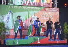 Cavalletti e Rubicondi campioni europei di Karate