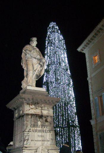 Programma di Natale nella città di Todi