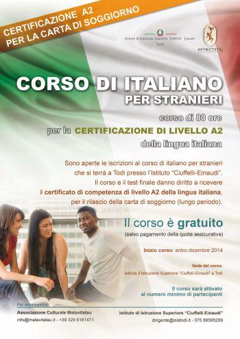 """Al """"Ciuffelli-Einaudi"""" corsi di italiano per stranieri « ilTamTam ..."""