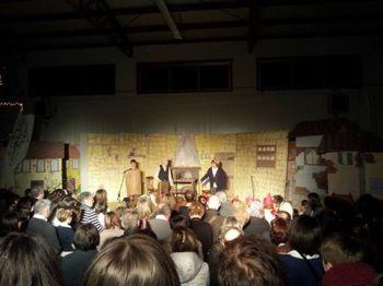 Pinocchio in scena alle scuole di Pantalla