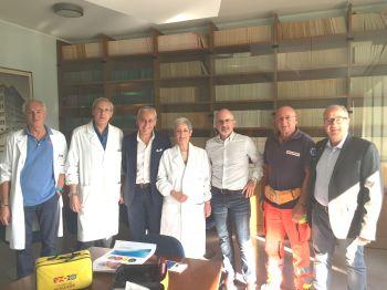 Sistema di infusione intraossea donato all'ospedale di Terni