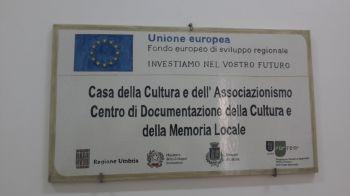 Deruta: inaugurata la biblioteca comunale