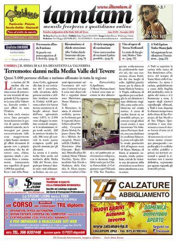 TamTam di novembre 2016 « ilTamTam.it il giornale online dell'umbria