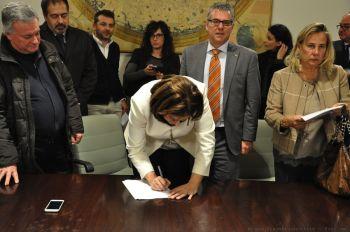 Firmata convenzione Regione-Comuni per la ricostruzione