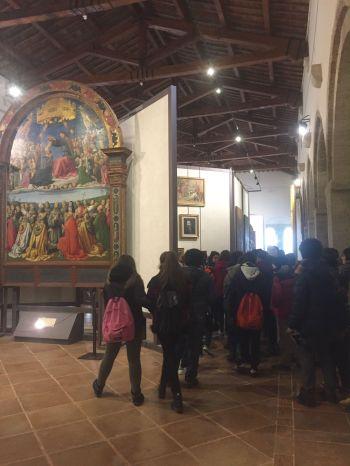 Studenti di Norcia in gita a Todi