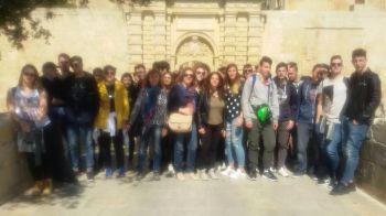 Studenti marscianesi in stage a Malta