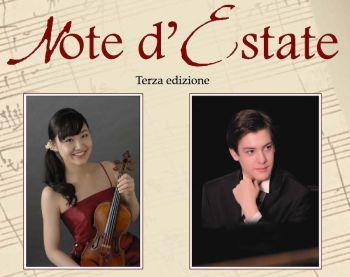 """Violino e pianoforte per """"Note d'Estate"""""""