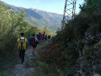 Scout dispersi recuperati dal soccorso alpino