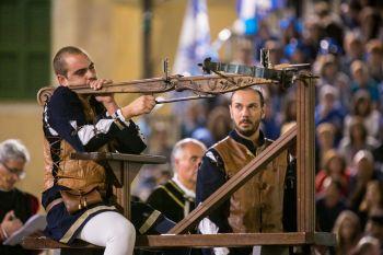 Fuga del Bove e corteo storico a Montefalco