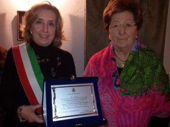 Grazia: encomio per 60 anni di volontariato