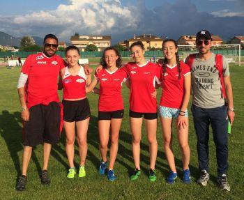 Le ragazze della Uisport fanno squadra