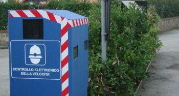 Autovelox fissi sulla strada Todi-Orvieto