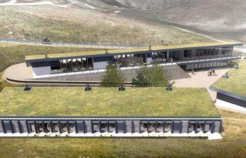"""Norcia: inaugurazione della """"galleria"""" commerciale"""