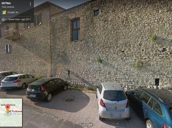Todi, lavori tra Porta Romana e Vicolo Bello