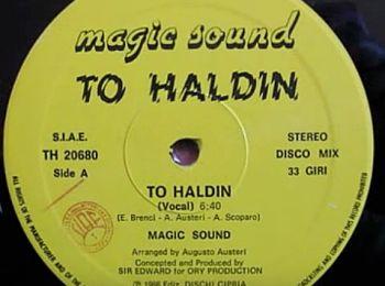 To Haldin, disco mix 33 giri, from Monte Castello