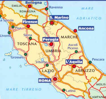 Cartina Italia Politica Umbria.L Umbria Tace Sulla Questione Centro Italia Iltamtam It Il Giornale Online Dell Umbria
