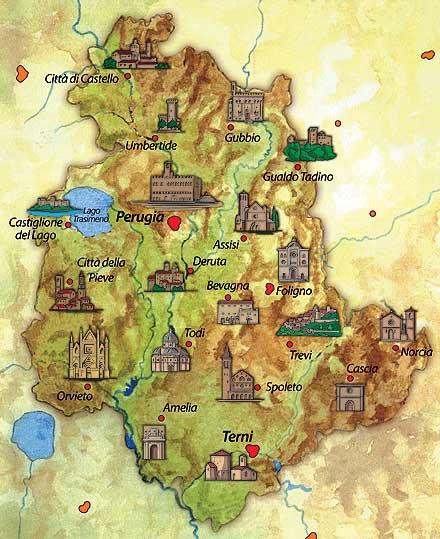 Turismo culturale l 39 umbria come un 39 unica citt il giornale online dell umbria - L antica toscana cucine da incubo ...