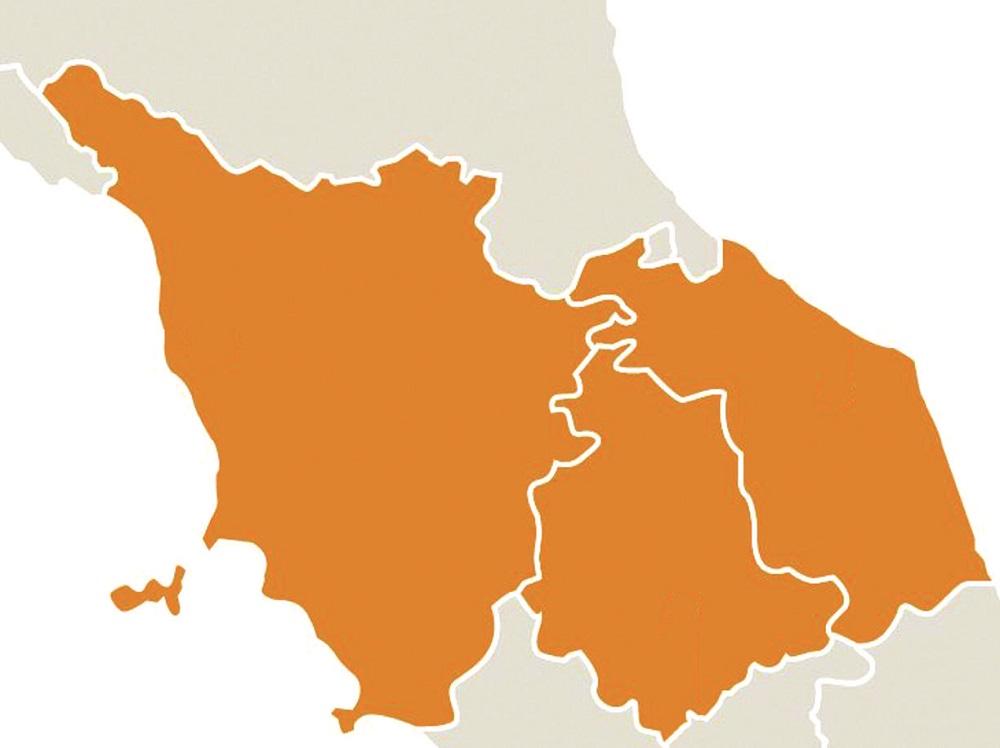 Umbria Marche Cartina.Rapporto Su Umbria Marche E Toscana Iltamtam It Il Giornale Online Dell Umbria