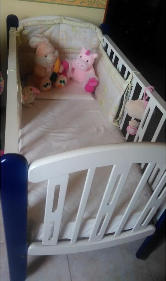 Completo letto fasciatoio foppa pedretti per bimbo bimba - Sponda letto io bimbo ...