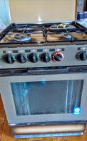 Cucina a gas o metano con forno elettrico