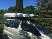 vendo tenda maggiolina per auto