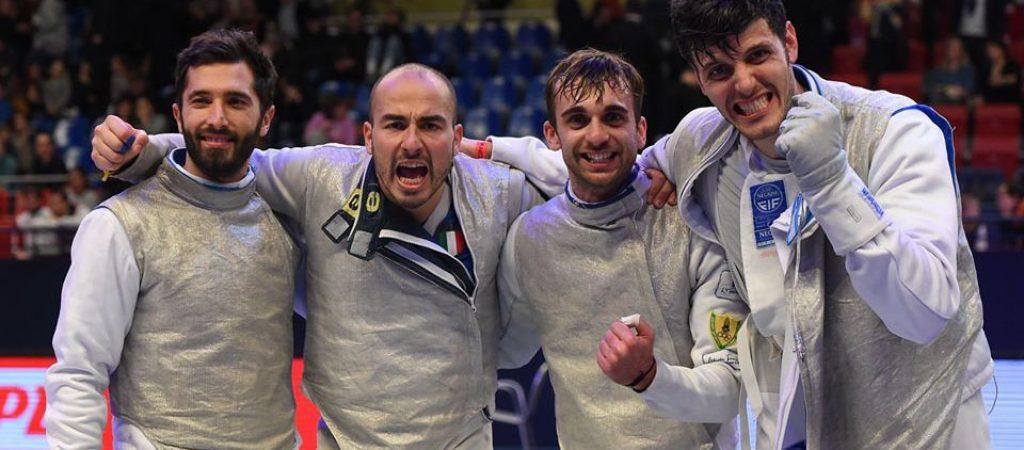ITALIA Fioretto maschile PARIGI2020