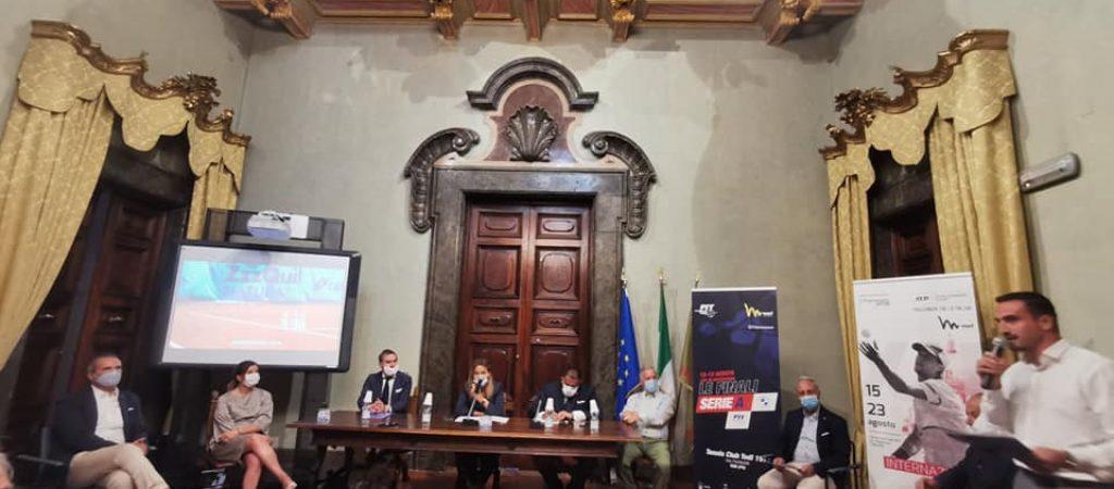 La presentazione degli eventi tennistici ad agosto a Todi
